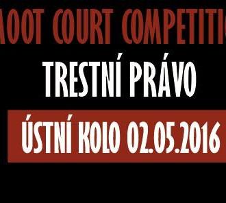 Moot court z trestního práva