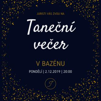 Pozvání na Taneční večer 2019